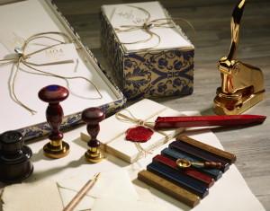 lakstempels, brieven, versieren, creatief, zegels